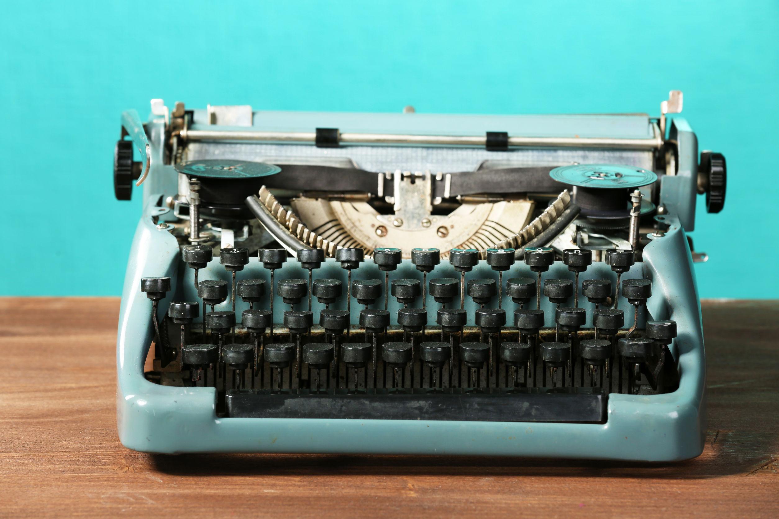 Schreibmaschine: Test & Empfehlungen (07/20)
