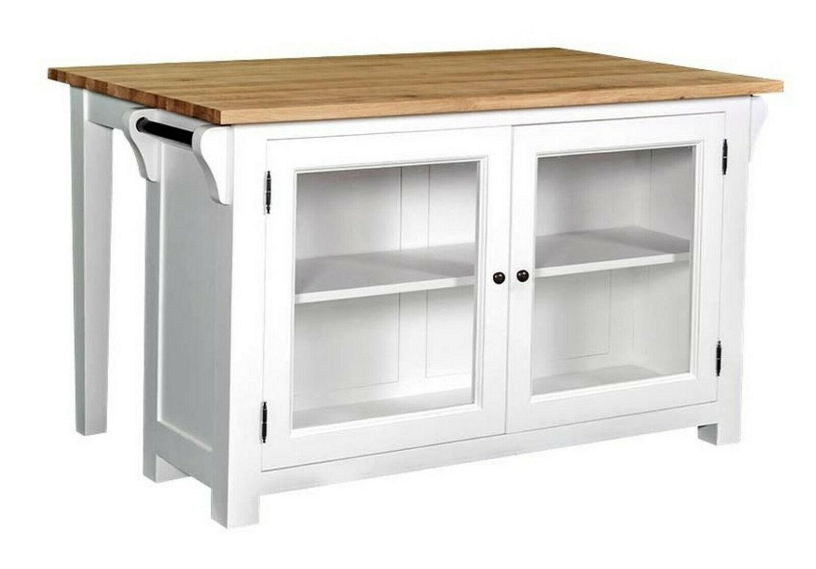 Kücheninsel Tisch Arbeitstisch Werktisch Landhaus Schreinerqualität