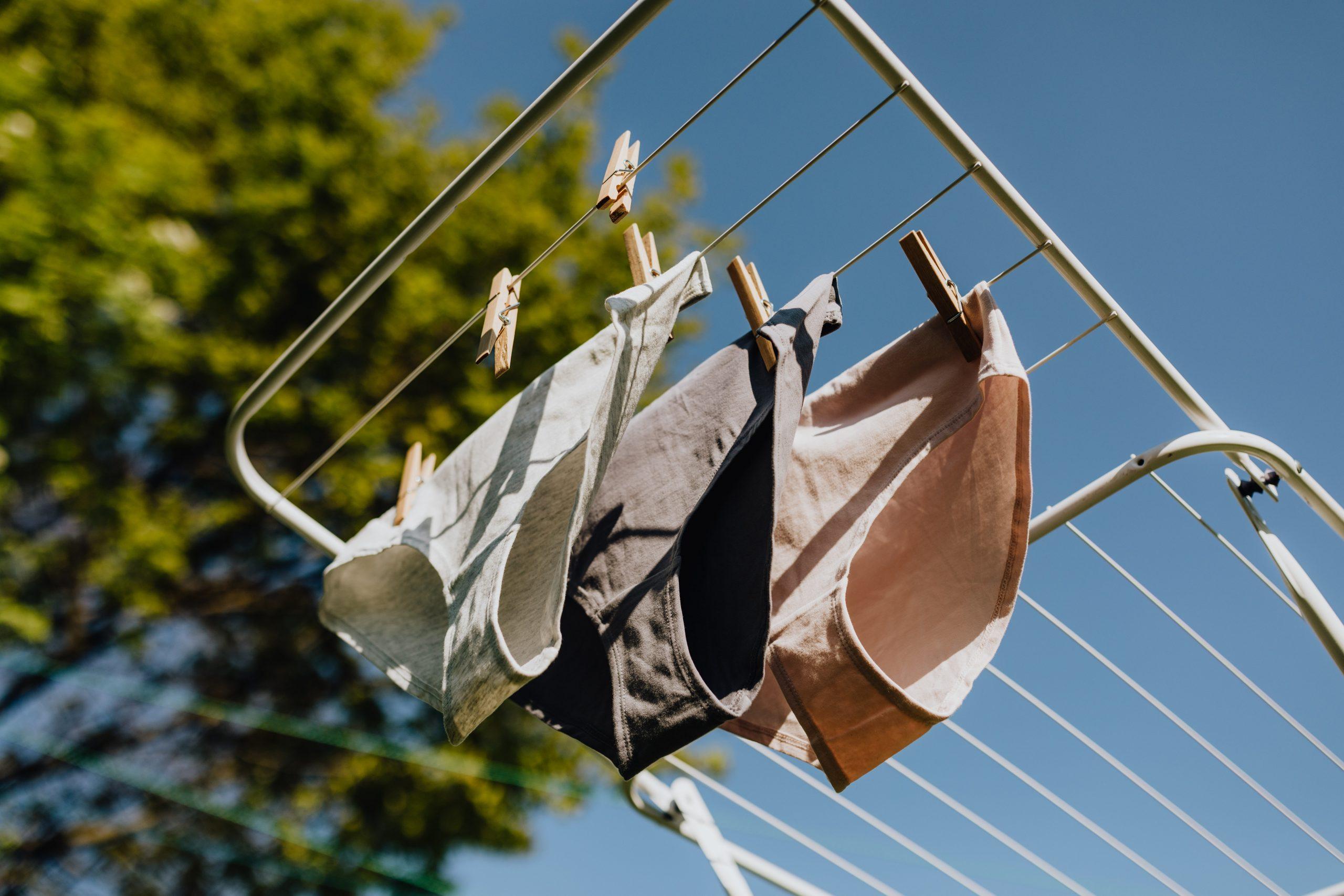 Standfester Wäscheständer
