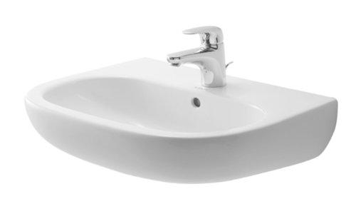 Duravit Waschbecken D Code Breite 65cm 1 Hahnloch, weiß, 2310650000