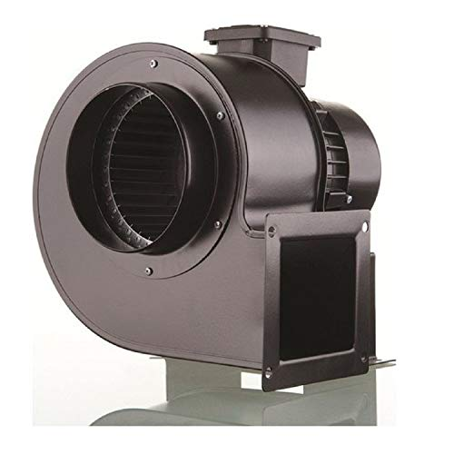 Uzman-Versand OBR200T Radialventilator 400VOLT Zentrifugal Radialgebläse, 2150m³/h Radial Ventilator Absauganlage Industriegebläse Lüfter Gebläse