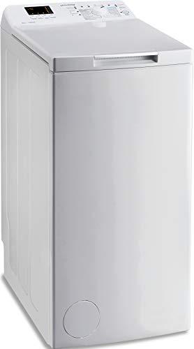 Privileg PWT D61253P N (DE) Toplader Waschmaschine / 6 kg / 1152 UpM/Turn&Go/Rapid Wash/Kurz 45'/Startzeitvorwahl/Wolle-Programm/Mehrfachwasserschutz+/Kindersicherung, Weiß