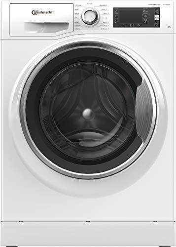 Bauknecht WM Elite 816 C Waschmaschine Frontlader/ 8kg / Active Care Color+ / kraftvolle Fleckentfernung/Dampf Programme/Steam Hygiene Option/Steam Refresh/Dynamic Inverter-Motor/Stop&Add, Weiss
